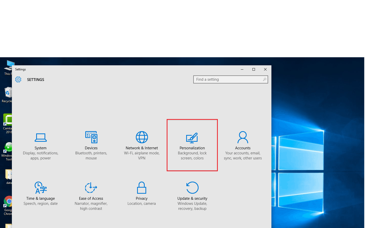 How to Show Icon on Desktop in Windows 10 - The World of IT