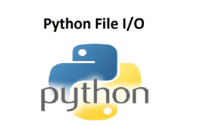 Python File I/O