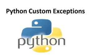 Python Custom Exceptions