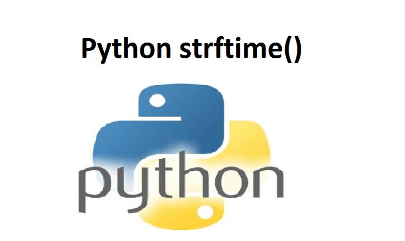 Python strftime()