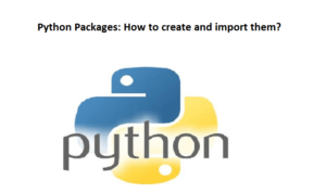 Python Packages: How to create and import them?