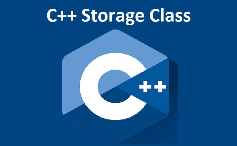 C++ Storage Class