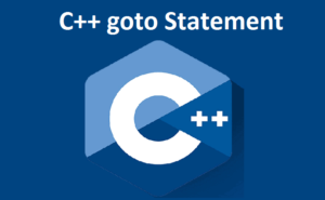 C++ goto Statement