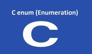 C enums
