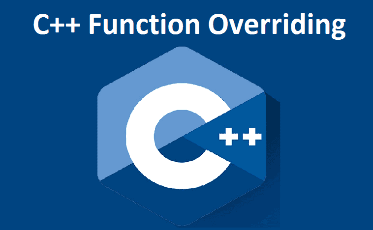 C++ Function Overriding