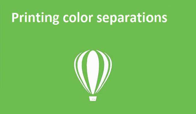 Printing color separations