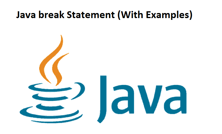 Java break Statement