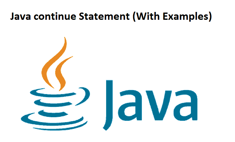 Java continue Statement
