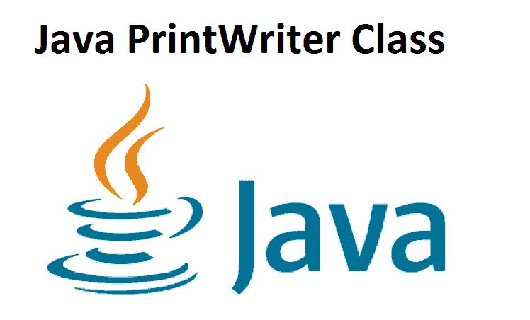 Java PrintWriter Class