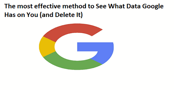 How to See What Data Google Has on You (and Delete It)
