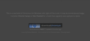 How to install Chromium in Windows 10