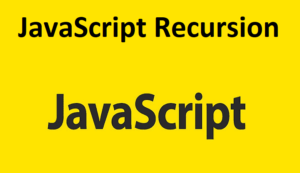 JavaScript Recursion