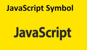JavaScript Symbol