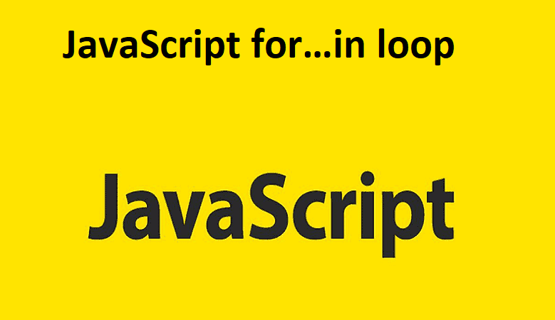 JavaScript for…in loop