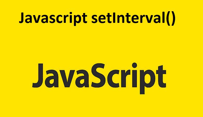 Javascript setInterval()