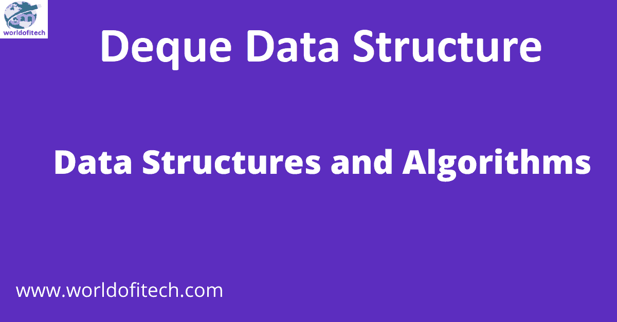 Deque Data Structure