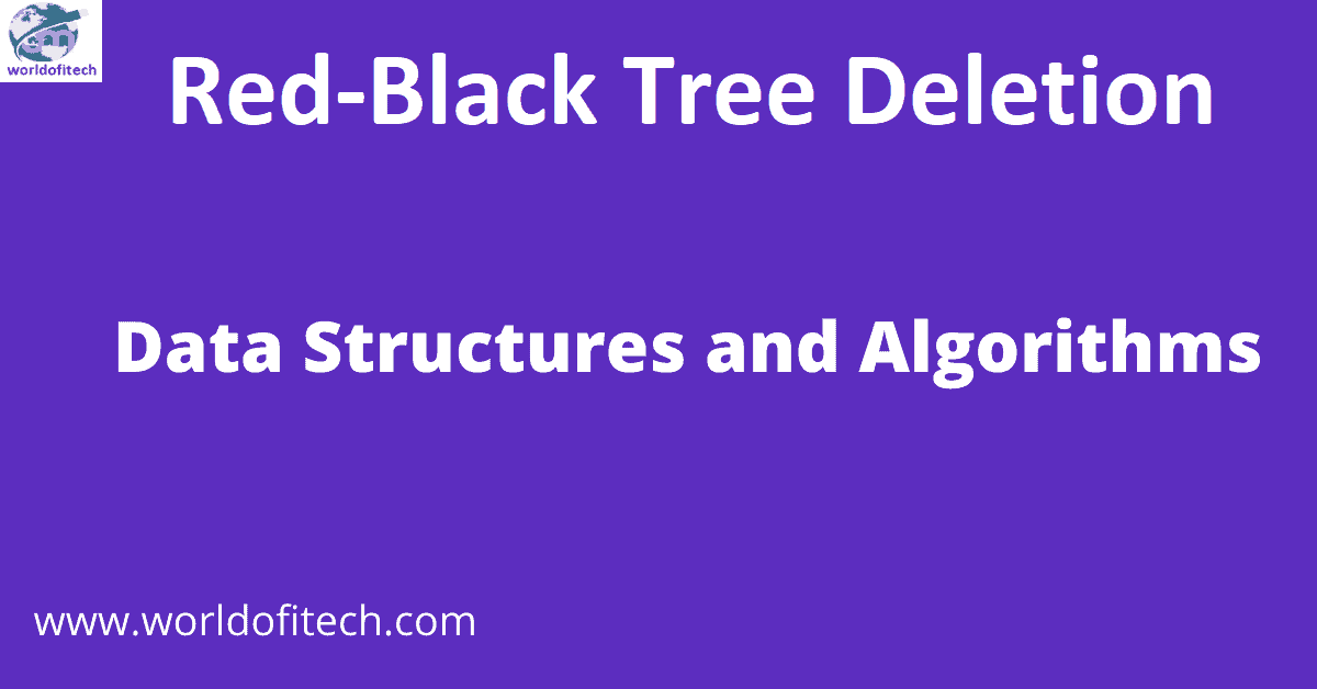 Red-Black Tree Deletion