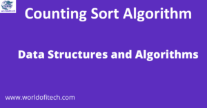 Counting Sort Algorithm