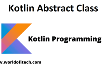 Kotlin Abstract Class