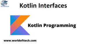 Kotlin Interfaces