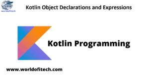 Kotlin object singleton