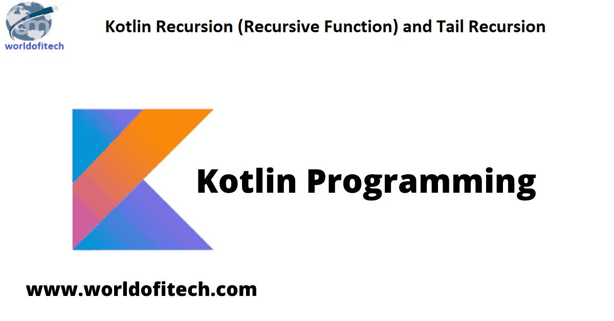 Kotlin Recursion