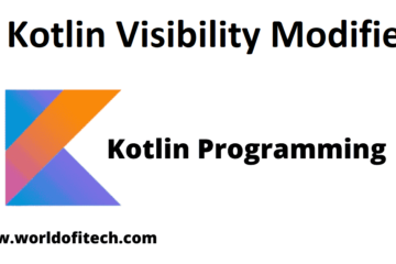 Kotlin Visibility Modifiers