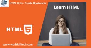 HTML Links Bookmarks