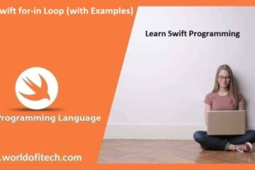Swift for-in Loop