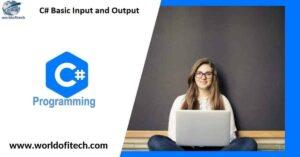 csharp Basic Input and Output